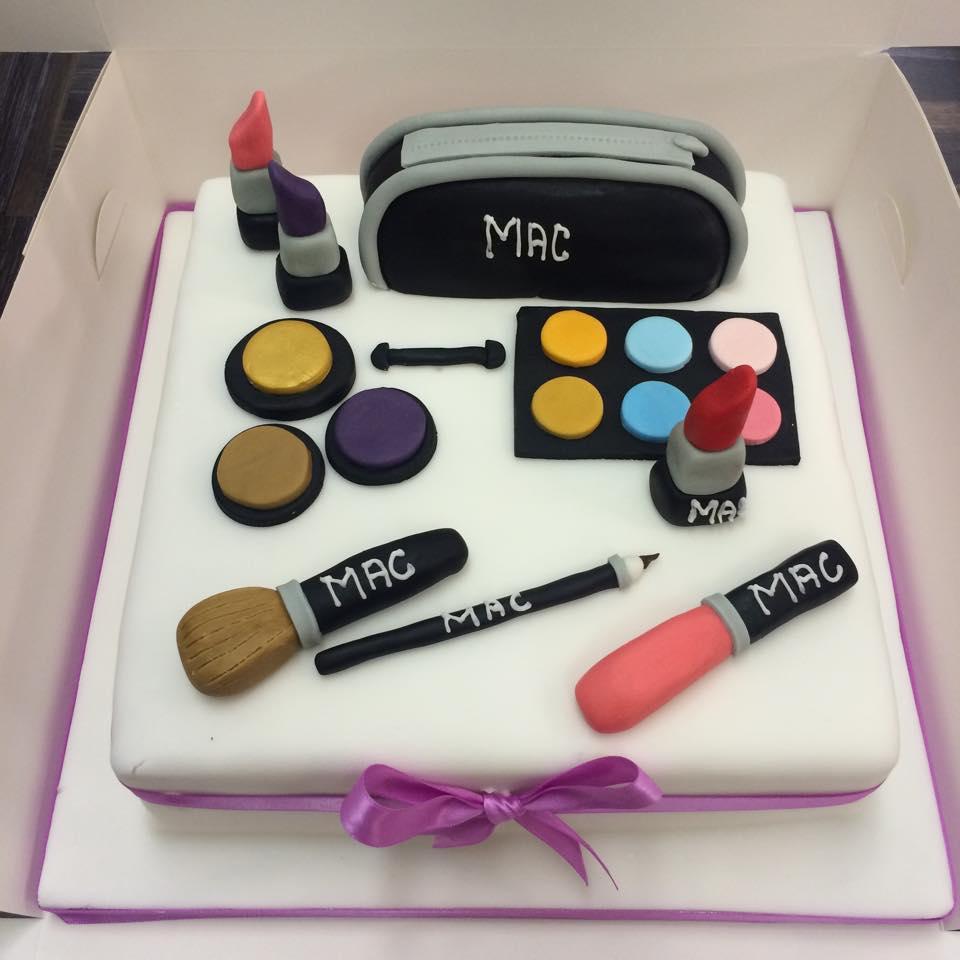 makeup cake icing