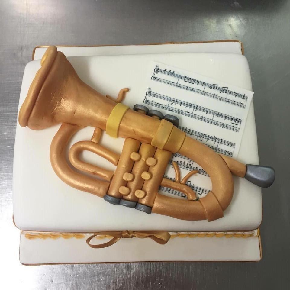 trumpet icing