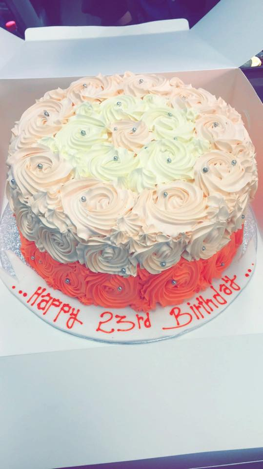patterned cakes