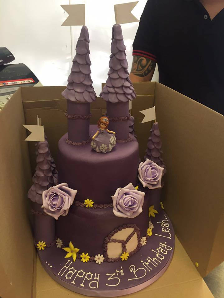 choclate castle cake