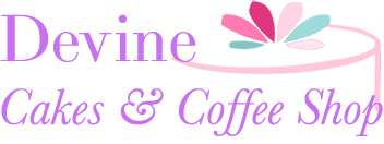 Devine Cakes & Coffee Shop logo