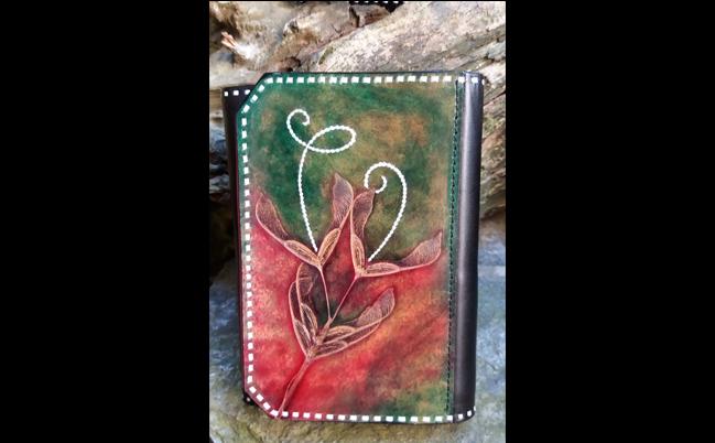 portafoglio decorato
