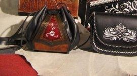 articoli da regalo di pelle, borse, borse da donna