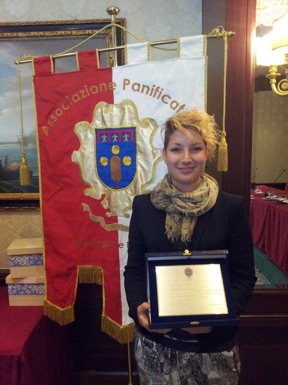 Premiazione Giovane Imprenditrice 2014 Ass. Panificatori Bologna