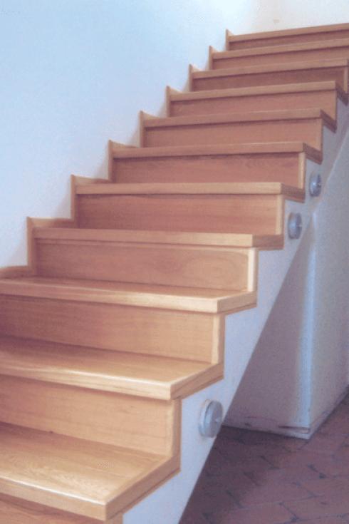 Scala in legno parquet