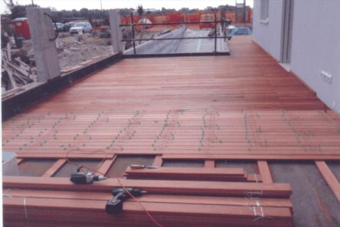 Montaggio pavimenti flottanti
