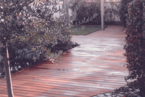 Giardino zen parquet