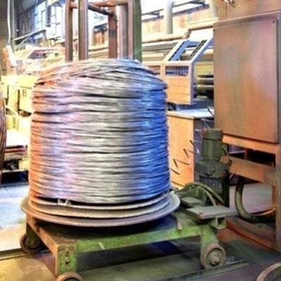 produzione filo trafilato semilucido