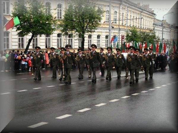 Russian Women Victory Day Vitebsk Belarus