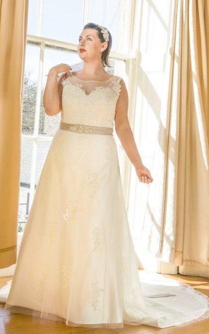 Wedding dresses for the fuller figure in Derry, Northern Ireland