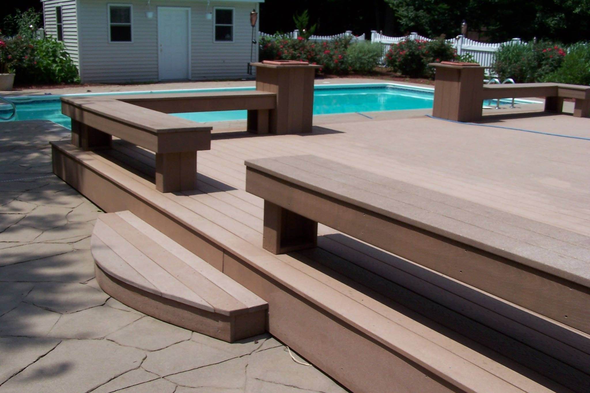 new deck built in North Haven, CT