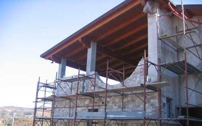 tetti in legno calabria