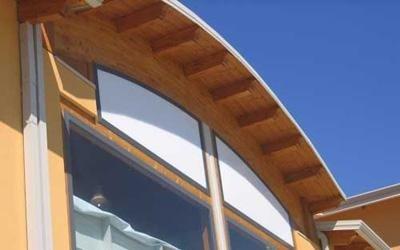 realizzazione strutture in legno supermercati