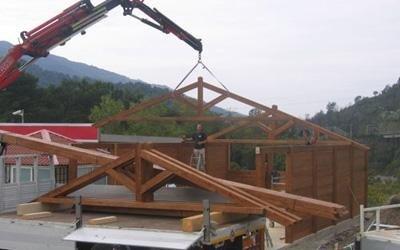 casa in legno calabria