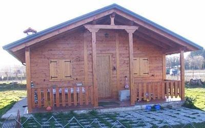 soluzioni con casa in legno