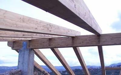 creazione coperture in legno