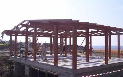 installazione strutture per villaggi turistici