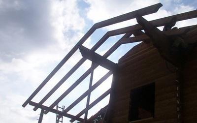 montaggio casa in legno