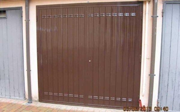 installazione porte garage ante