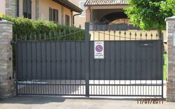 cancello appartamento