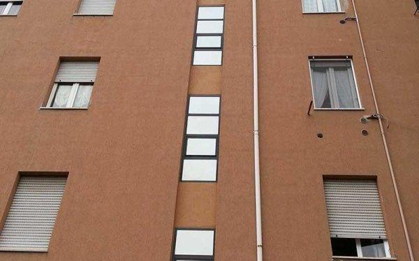 vetrata casa