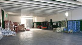 magazzino per stoccaggio