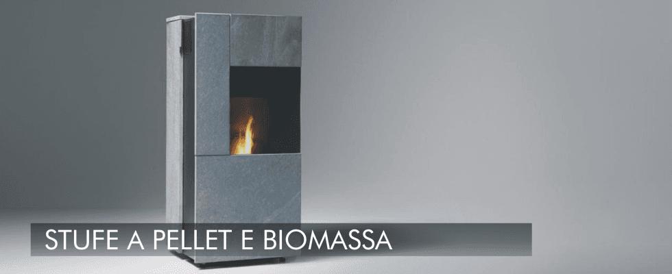stufe a pellet e biomassa