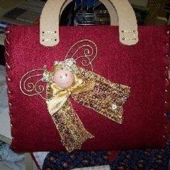 borsa con decoro personalizzato