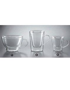 tazze in vetro, set di tazze, set di tazze in vetro