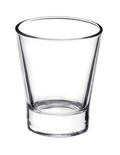 bicchiere di vetro, bicchiere a cono, bicchieri