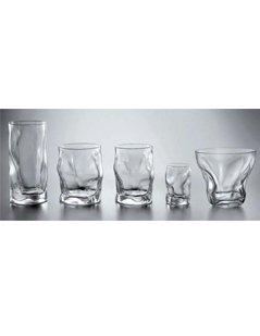 bicchieri sagomati, set di bicchieri, bicchieri in vetro