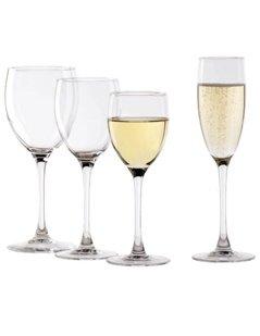 bicchieri per spumanti, bicchieri per vino, calici