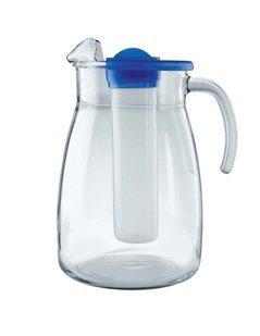 caraffa per acqua, caraffa di vetro, caraffa