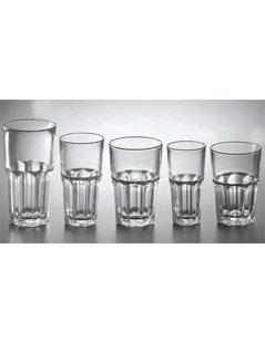 bicchieri in vetro spesso, bicchieri in vetro, bicchieri per acqua
