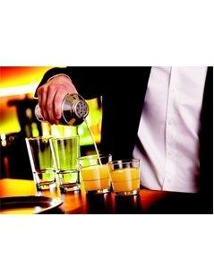 bicchieri per cocktail, bicchieri di vetro, bicchieri