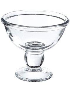 coppa gelato, coppa in vetro spesso, coppetta in vetro