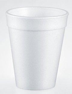 tazza in polistirolo, tazza