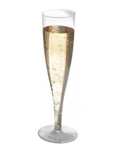 flute, flute di plastica, bicchiere di plastica, calice di plastica