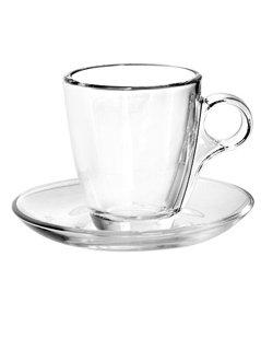 tazza da cappuccio in vetro, tazza da caffè in vetro, tazzina da caffè