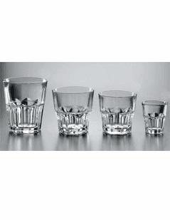 bicchieri di vetro, vetro spesso, vendita bicchieri