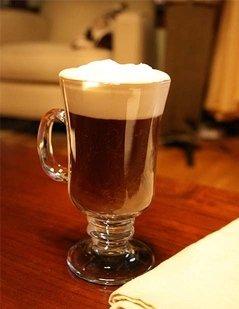 bicchiere per irish coffe, bicchiere di vetro