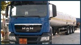 cisterna trasporto benzine