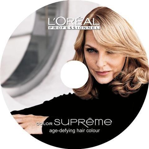 locandina promozionale colore per i capelli