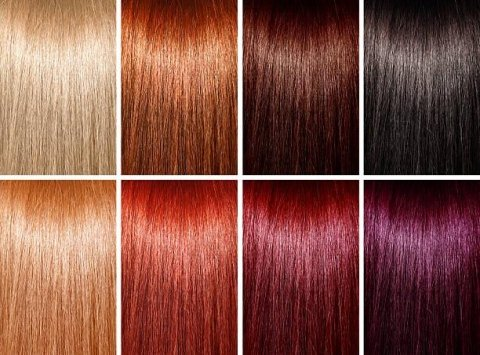 colori e tinte per i capelli