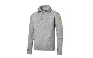 Maglione in lana ½ zip