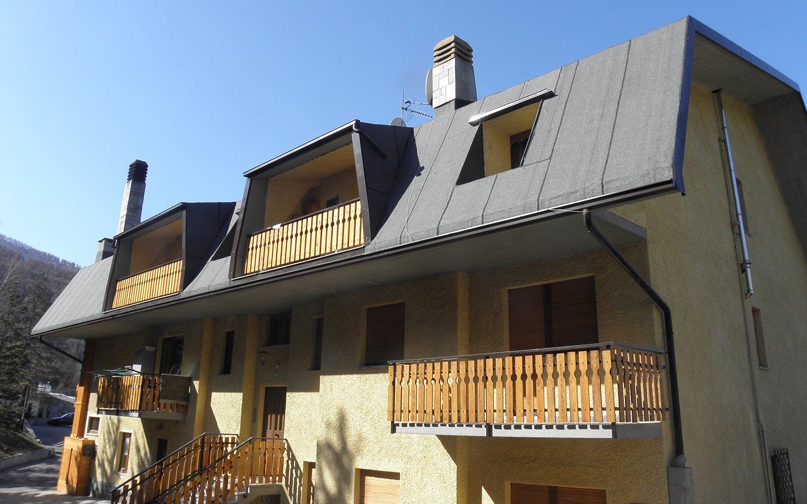 Impermeabilizzazione del tetto di una casa