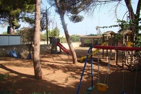 Parco giochi e intrattenimento estivo