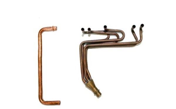 Esempi di tubi per il condizionamento finiti