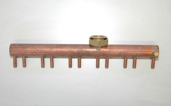 Esempio di lavorazione complessa del tubo