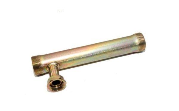 Esempio di tubo per riscaldamento lavorato